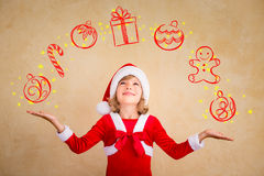 Christmas miracle concept Royalty Free Stock Image