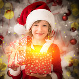 Christmas miracle concept Stock Images