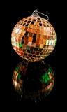 Christmas mirror ball isolated Stock Images