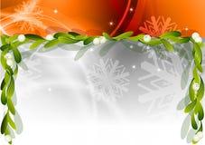 Christmas mistletoe Stock Photography