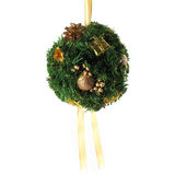 Christmas Mistletoe Ball Stock Photography