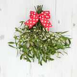 Christmas Mistletoe Decoration Royalty Free Stock Photos