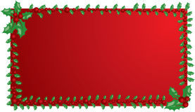 Christmas mistletoe frame, elements for design, vector Royalty Free Stock Photos
