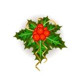 Christmas mistletoe Stock Image