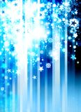 Christmas modern blue background Royalty Free Stock Image
