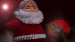 Christmas moments with christmas songs. stock footage