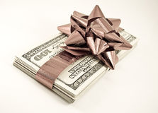 Christmas money Stock Image