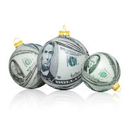 Christmas money Stock Photo