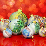 Christmas money Stock Images