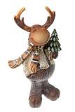 Christmas Moose Royalty Free Stock Photos