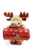 Christmas moose deer Royalty Free Stock Photography