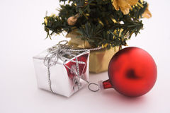 Christmas morning. Crhistmas decorations royalty free stock images