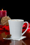 Christmas Morning Beverage Royalty Free Stock Photography