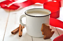 Christmas morning drink Royalty Free Stock Photo