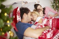 Christmas morning. For happy family Stock Photo