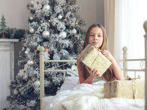 Christmas morning Stock Image