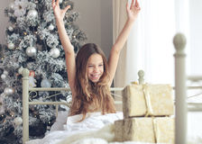 Christmas morning Royalty Free Stock Image