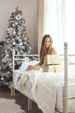 Christmas morning Stock Photos