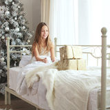 Christmas morning Stock Photography
