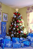 Christmas Morning Tree/Presents Royalty Free Stock Images