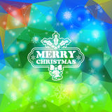Christmas Mosaic Pattern Royalty Free Stock Image