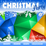 Christmas Mosaic Pattern Royalty Free Stock Photo