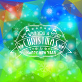 Christmas Mosaic Pattern Royalty Free Stock Images