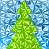 Christmas Mosaic Pattern Stock Image