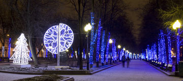 Christmas Moscow Stock Photography