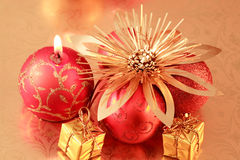 Christmas motive Stock Images
