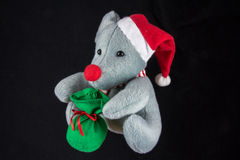 Christmas mouse Stock Photo