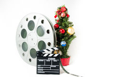 Christmas movie Royalty Free Stock Photography