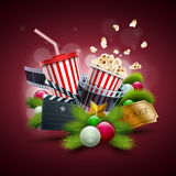 Christmas Movie concept Stock Photography