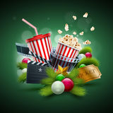 Christmas Movie concept Stock Images