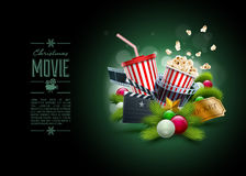 Christmas Movie concept Stock Photos