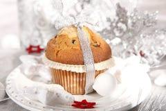 Christmas muffi Stock Images