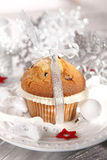 Christmas muffin Stock Images