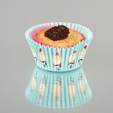 Christmas muffin with chocolate Royalty Free Stock Photos