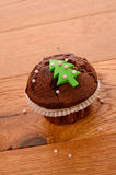 Christmas muffin Stock Photos