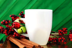 Christmas Mug Royalty Free Stock Images