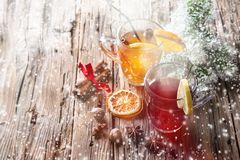 Christmas mull and punch Royalty Free Stock Photography
