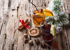 Christmas mull and punch Royalty Free Stock Images