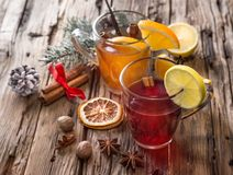 Christmas mull and punch Stock Photo