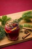 Christmas. Mulled  wine Stock Image