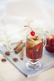 Christmas Mulled Wine Royalty Free Stock Photos