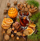 Christmas mulled wine Royalty Free Stock Photo