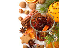 Christmas mulled wine Stock Image