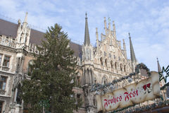 Christmas in Munich Stock Photography