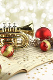 Christmas music Royalty Free Stock Photos