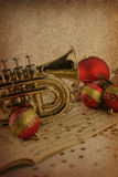 Christmas music Stock Images